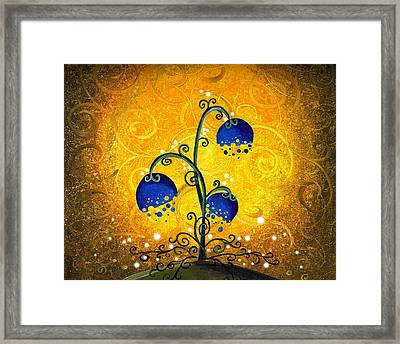 Charmed September Framed Print by Cindy Thornton