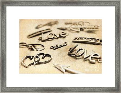 Charming Old Fashion Love Framed Print by Jorgo Photography - Wall Art Gallery