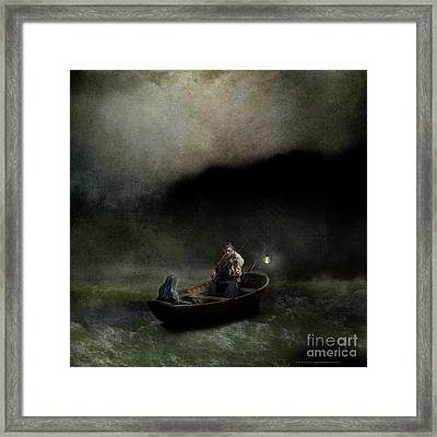 Charon's Lullaby Framed Print by Silas Toball