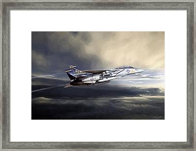 Chasing Light Framed Print by Peter Chilelli