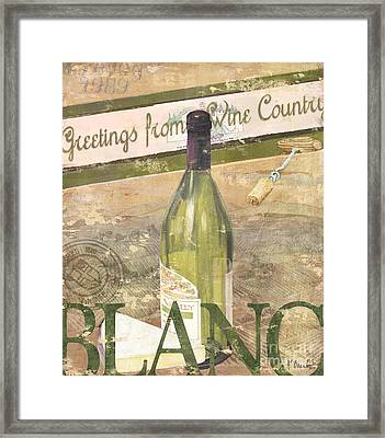 Chateau Chardonnay Framed Print by Paul Brent