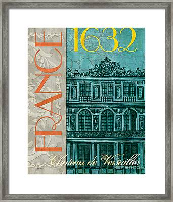 Chateau De Versailles Framed Print by Debbie DeWitt