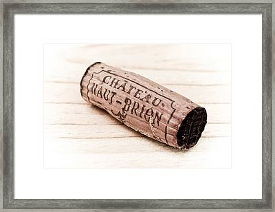 Chateau Haut-brion Framed Print by Frank Tschakert