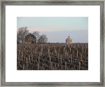 Chateau Latour Framed Print by Rodger Lindquist
