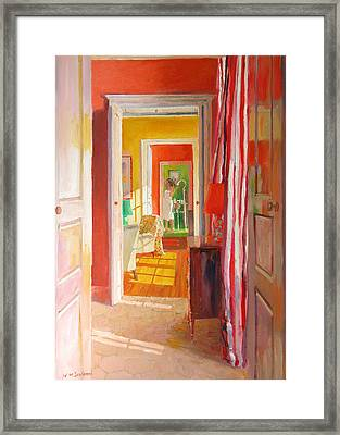 Chateau Tanesse Framed Print by William Ireland