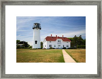 Chatham Lighthouse Framed Print by Emmanuel Panagiotakis