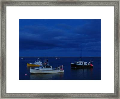 Chatham Pier Framed Print by Juergen Roth