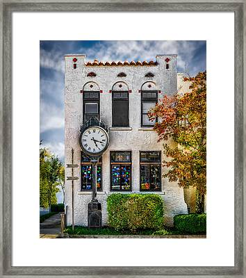 Chattanooga Tennessee - Fine Art Gallery  Framed Print by Frank J Benz