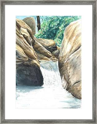 Chau-ram Framed Print by Lane Owen