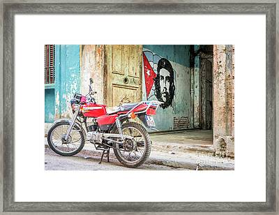 Che Guevara Framed Print by Delphimages Photo Creations
