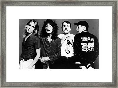 Cheap Trick, Robin Zander, Tom Framed Print by Everett