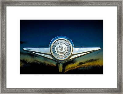 Checker Marathon Taxicab Emblem -ck1104c Framed Print by Jill Reger