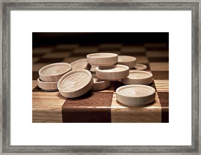 Checkers IIi Framed Print by Tom Mc Nemar