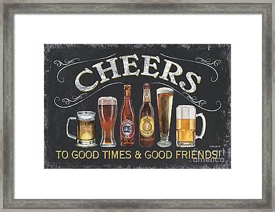 Cheers  Framed Print by Debbie DeWitt