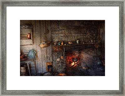 Chef - Kitchen - Home For The Holidays  Framed Print by Mike Savad