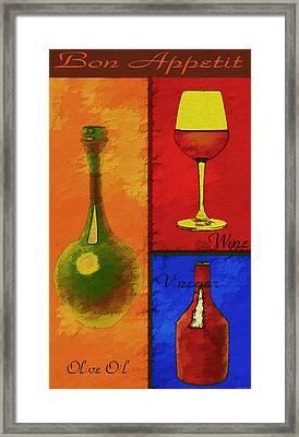Chef Series A Framed Print by Robert Matson