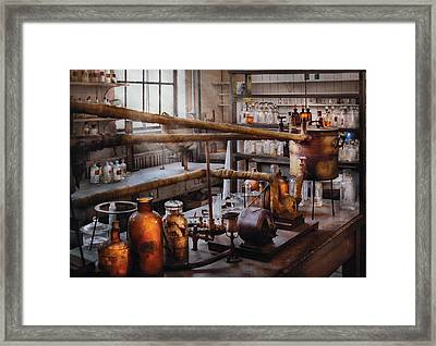 Chemist - The Still Framed Print by Mike Savad