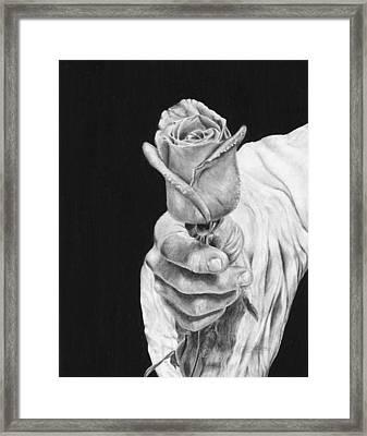 Cherished Framed Print by Jyvonne Inman