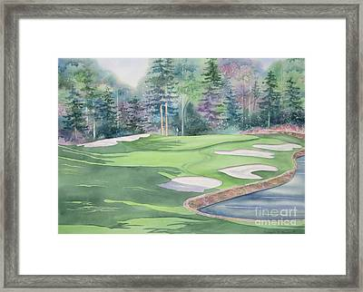 Cherokee Town And Country Club Framed Print by Deborah Ronglien