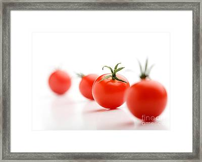 Cherry Tomatoes Framed Print by Kati Molin