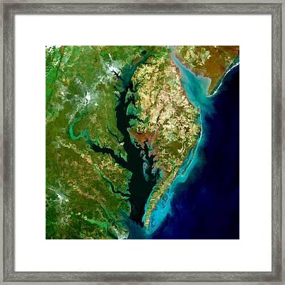 Chesapeake Bay Framed Print by Elaine Plesser