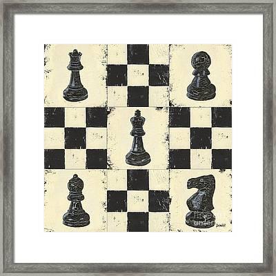 Chess Pieces Framed Print by Debbie DeWitt