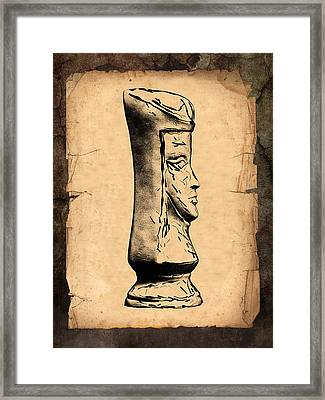 Chess Queen Framed Print by Tom Mc Nemar