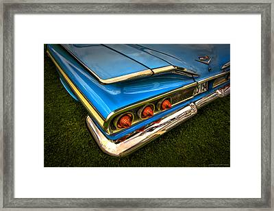 Chev One Framed Print by Jerry Golab