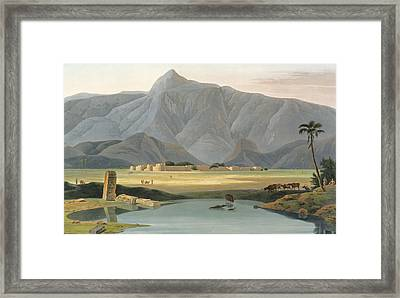 Chevalpettore Framed Print by Thomas Daniell