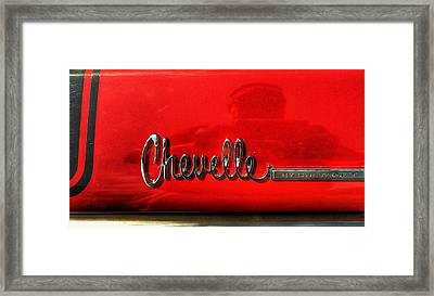 Chevelle By Chevrolet  Framed Print by Jame Hayes