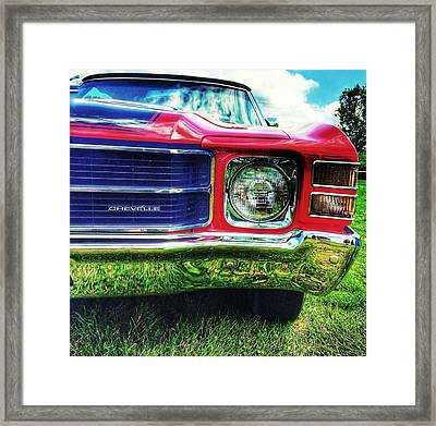 Chevelle Framed Print by Jame Hayes