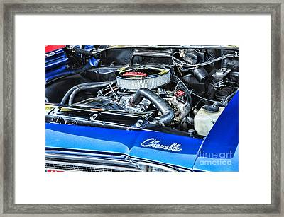 Chevelle Muscle Car Framed Print by Paul Ward