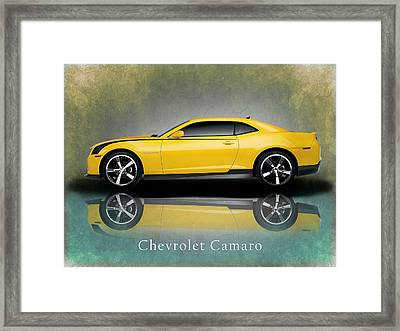 Chevrolet Camaro Framed Print by Mark Rogan