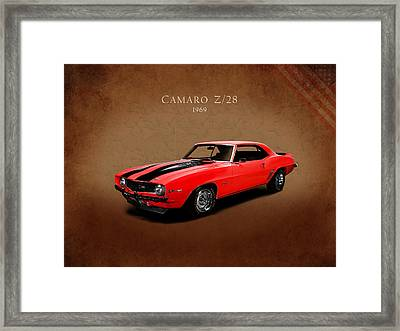 Chevrolet Camaro Z 28 Framed Print by Mark Rogan