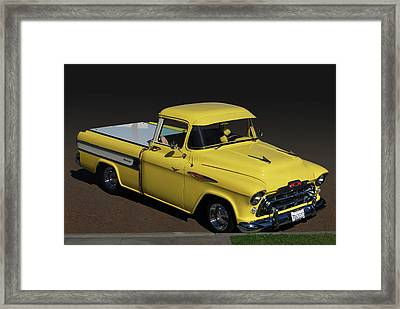 Chevy Cameo  Framed Print by Bill Dutting