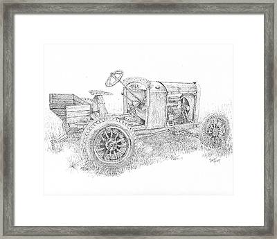 Chevy Doodlebug Framed Print by David King