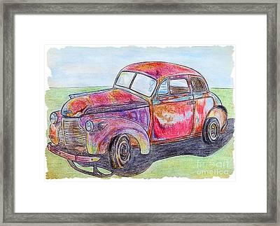 Chevy Framed Print by Lisa Pfeiffer