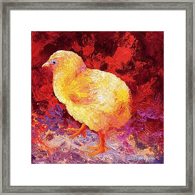 Chic Flic II Framed Print by Marion Rose