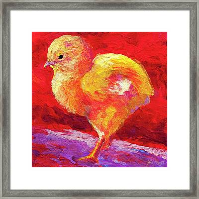 Chic Flic Iv Framed Print by Marion Rose