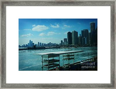 Chicago Framed Print by Celestial Images