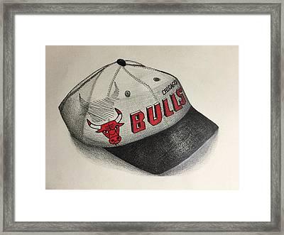 Chicago Bulls Framed Print by Jacyca Abrams
