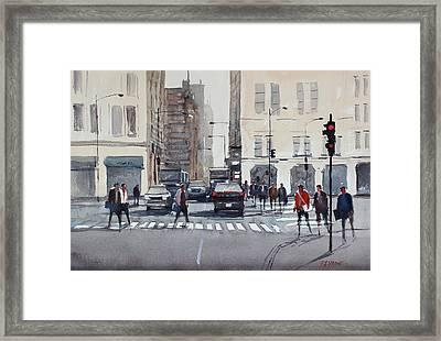 Chicago Impressions Framed Print by Ryan Radke