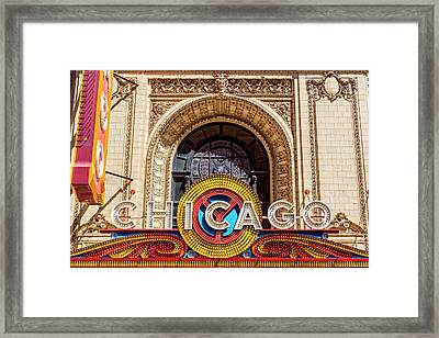 Chicago Framed Print by Kelley King