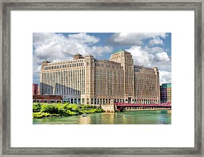 Chicago Merchandise Mart Framed Print by Christopher Arndt