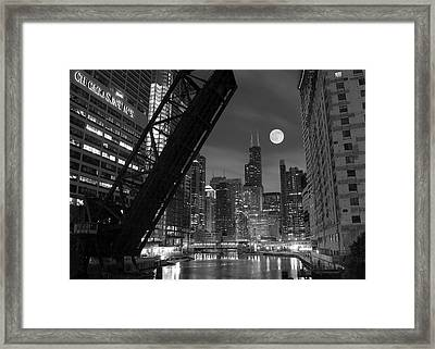 Chicago Pride Of Illinois Framed Print by Frozen in Time Fine Art Photography