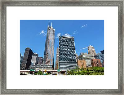 Chicago Style Framed Print by Kelley King