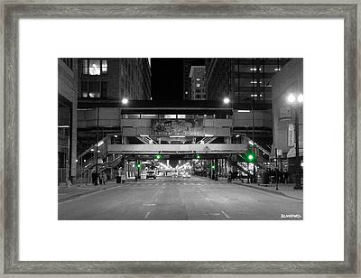 Chicago Train Station Framed Print by Al Blackford
