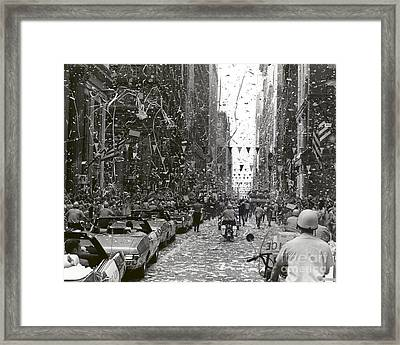 Chicago Welcomes Apollo 11 Astronauts Framed Print by Nasa