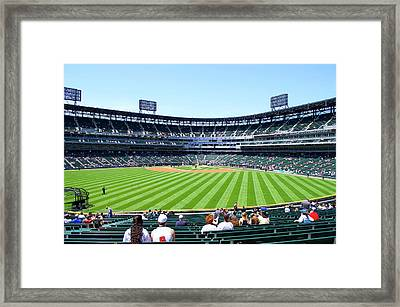 Chicago White Sox Center Field View Framed Print by Thomas Woolworth