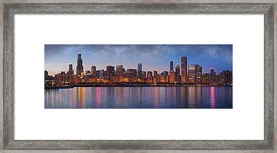 Chicago's Beauty Framed Print by Donald Schwartz